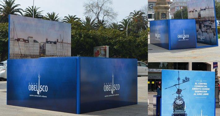 Stand Campaña Navidad - Asociación Obelisco
